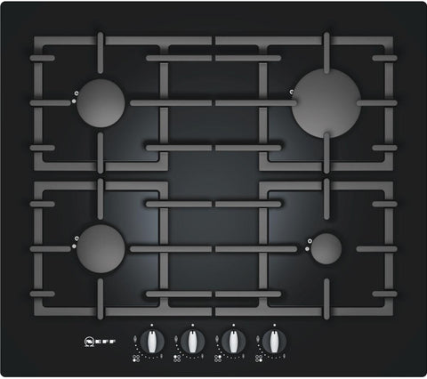 Neff T62S26S1 Gas Hob Black