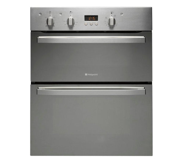 Fuel Induction Service >> HOTPOINT UD53X Electric Built-under Double Oven - Stainless Steel – Safeer Appliances Ltd
