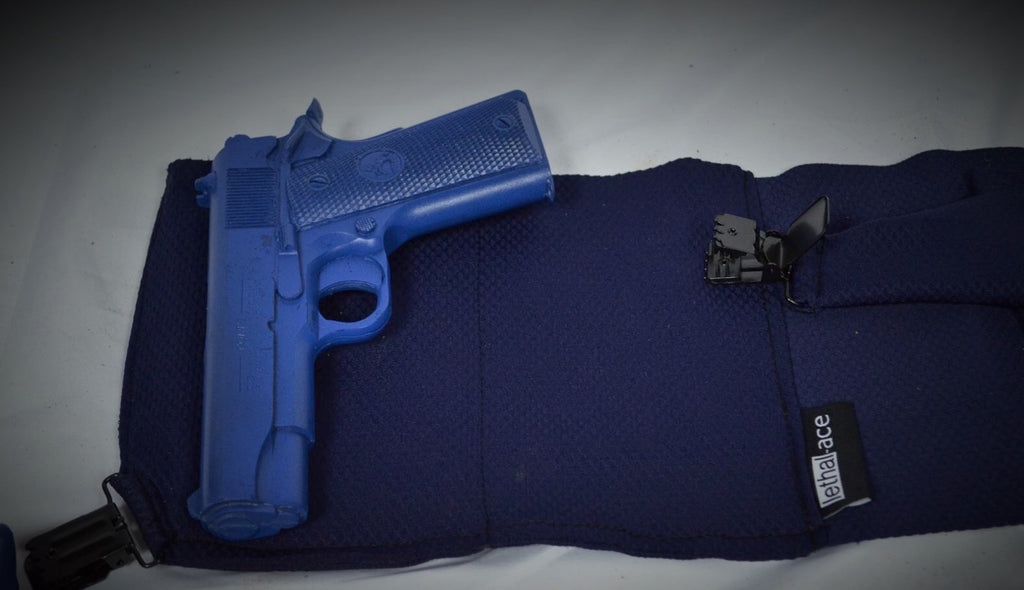 Unisex/Non-Lace Navy Universal Holster