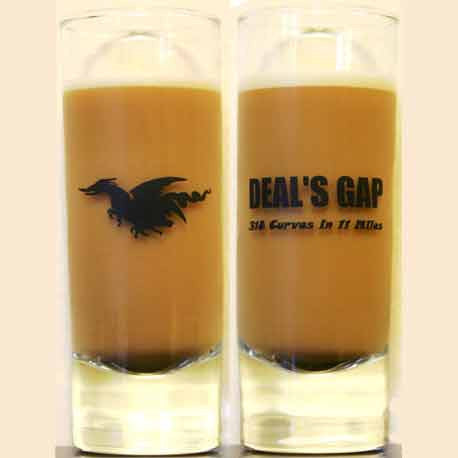 Tall Shot Glass Clear