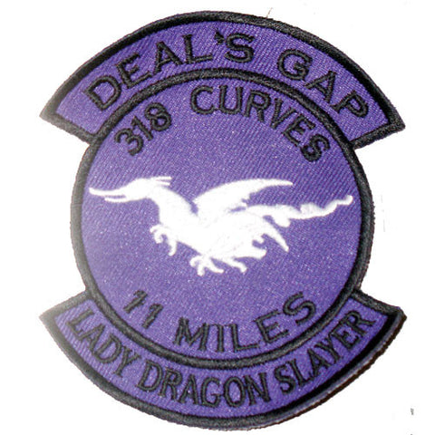 Lady Dragon Slayer Large Patch