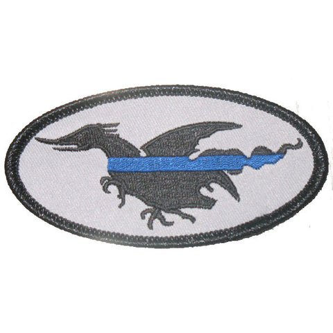 Blue Line Patch Small