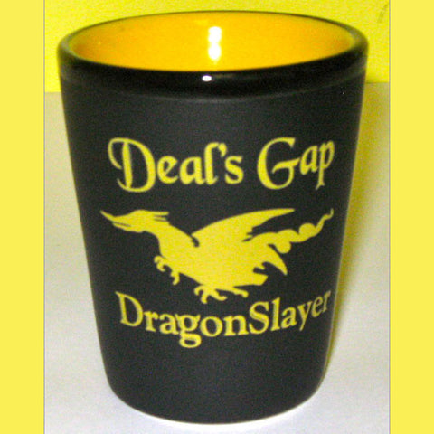 Black & Yellow Dragon Slayer Shot Glass