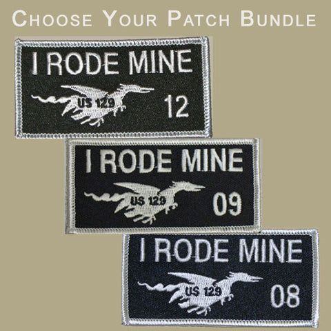 I Rode Mine 2-Patch Bundle