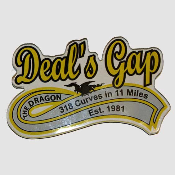 Deal's Gap Acrylic Magnet