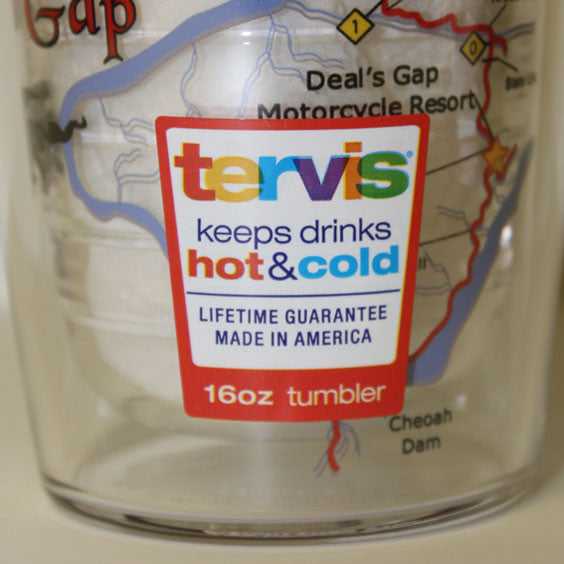 Tervis 16oz Map Tumbler with Lid