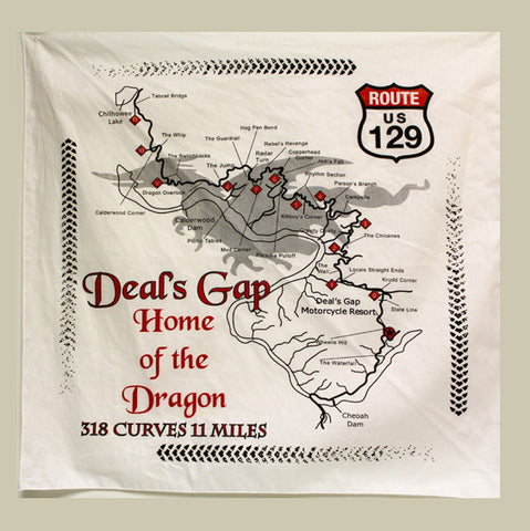 Dragon Map Bandanna