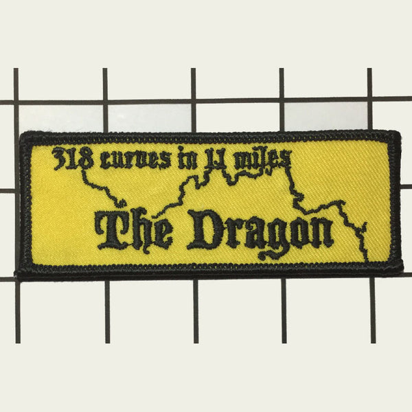 Dragon Road Outline Patch