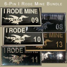 Rode Mine Black 6-Pin Bundle