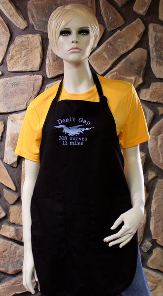 Embroidered Apron