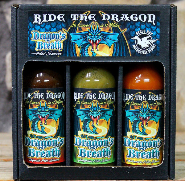 Dragon's Breath 3-Pack Hot Sauce