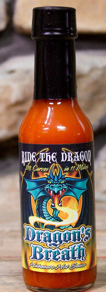 Dragon's Breath Habanero Hot Sauce