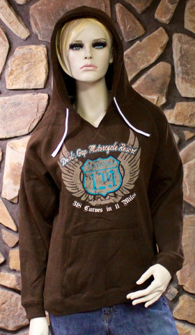 Ladies Chocolate Hoodie