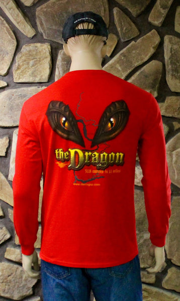 Eyes Red Long Sleeve T-Shirt