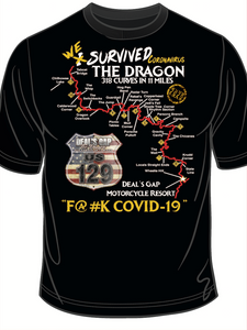 'We Survived Covid-19' T-shirt S/S