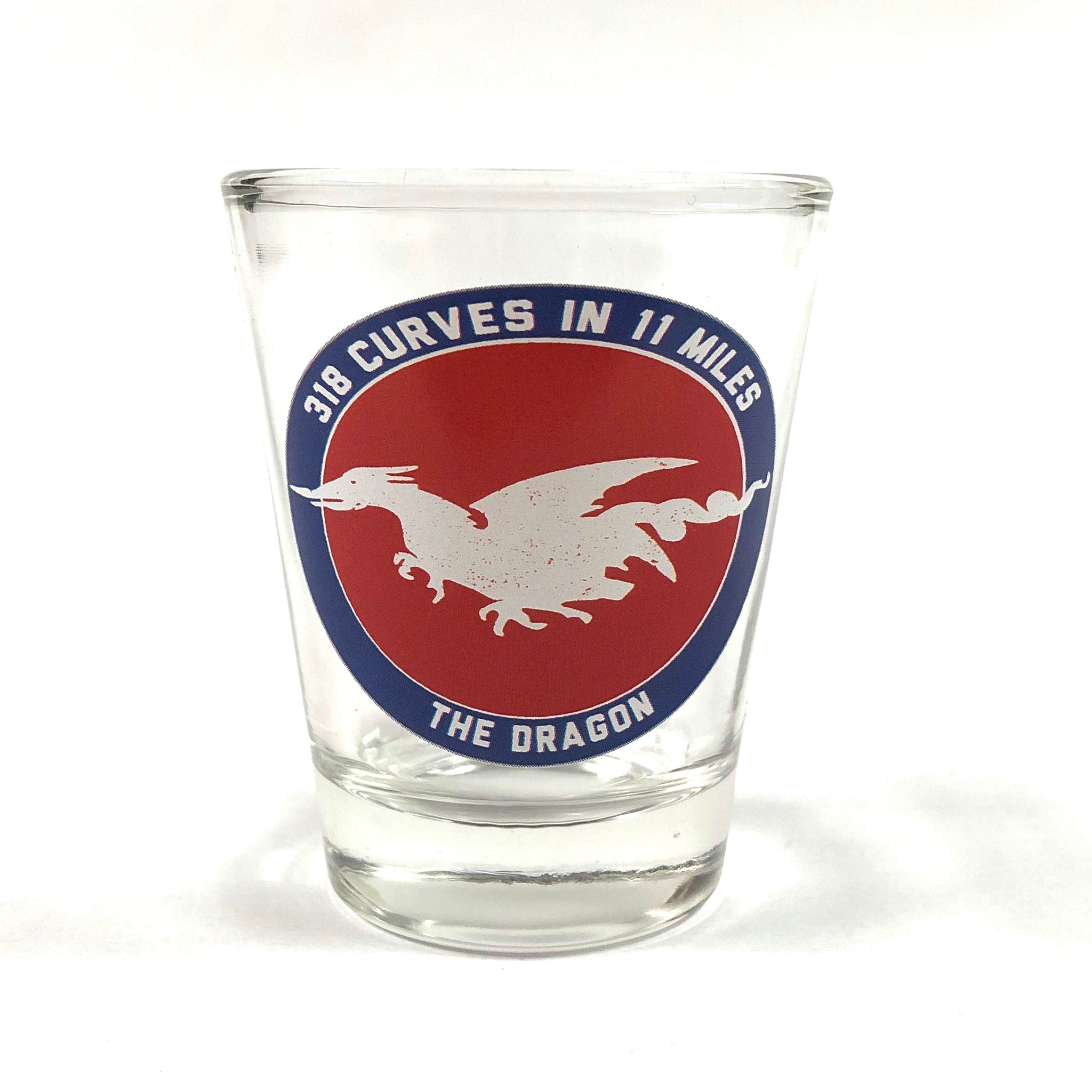 Shot Glass Brick Dragon