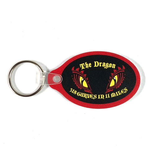 Dragon Eyes Keychain