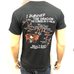 'I Survived' Map Shirt