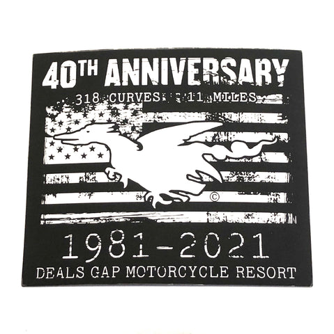 40th Anniversary magnet