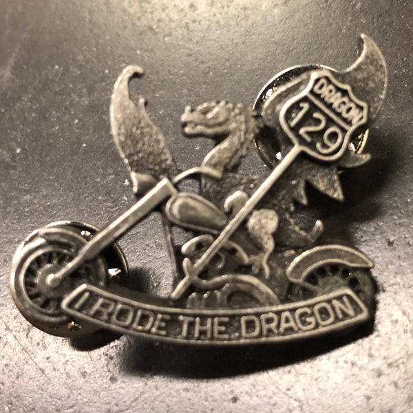 Pewter Dragon Pin