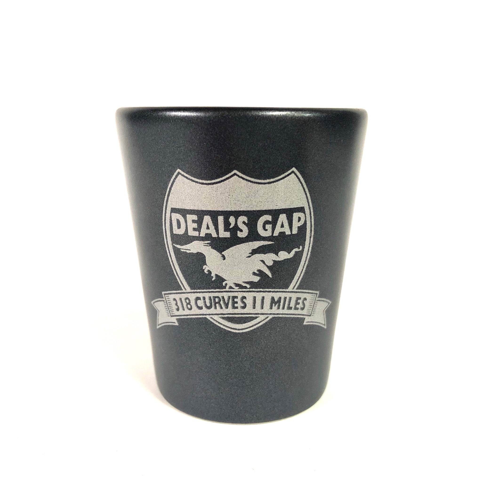 Shot Glass Black / Sliver