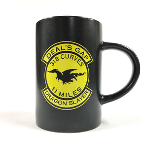 Mug - Dragon Slayer Black & Yellow