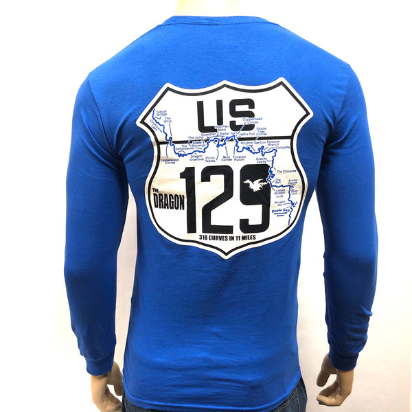 Road Sign Blue L/S