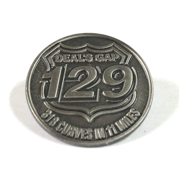 Round Pewter Pin