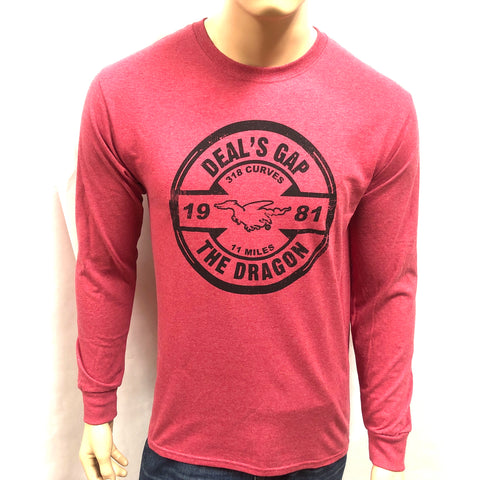 Red Stamp shirt l/s