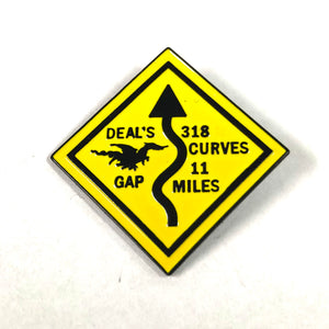 Dragon Curves Pin