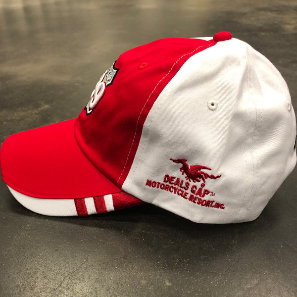Red & White Hat