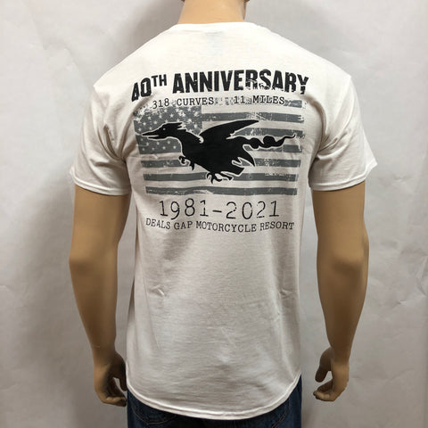 40th Anniversary shirt s/s WHITE