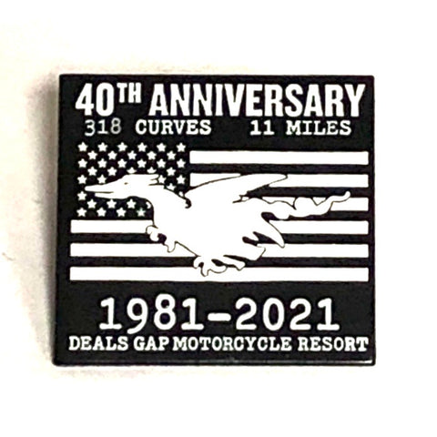 40th Anniversary pin