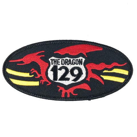The Dragon 129 Oval Patch Large