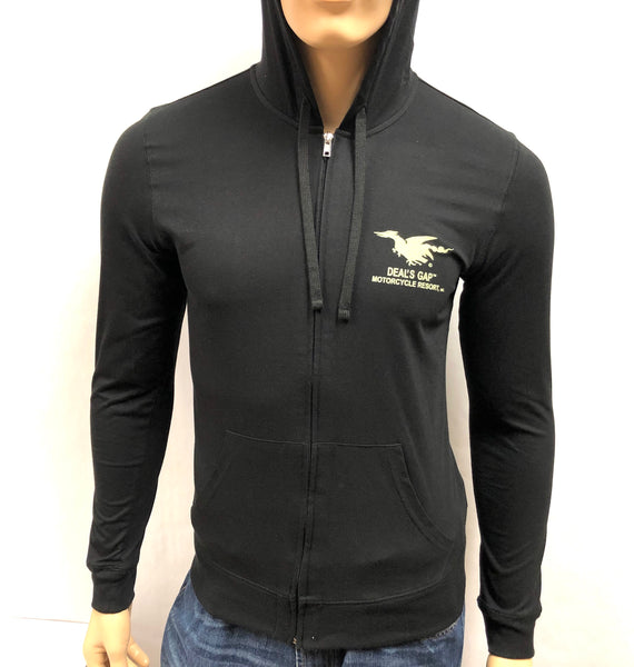 Sweatshirt - Zip-up Hooded Shirt