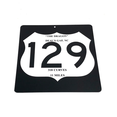 US129 Plastic Sign