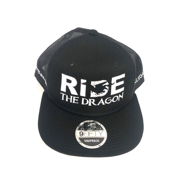 RIDE The Dragon - black/black/mesh/flatbill