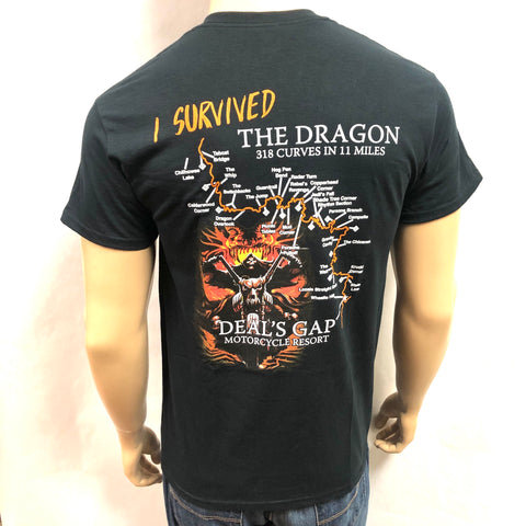'I Survived' Cruiser Map Shirt