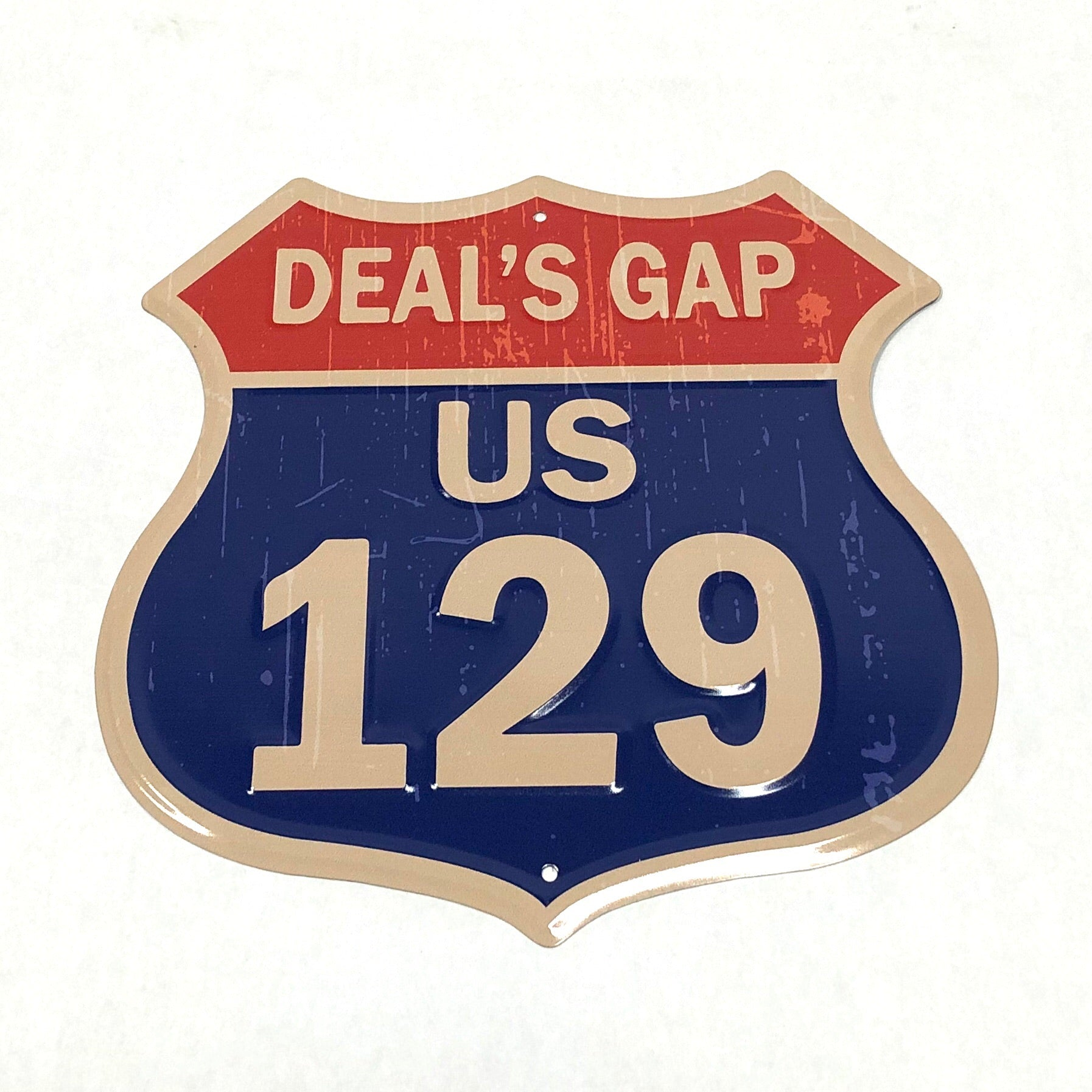 "Deals Gap ""Interstate"" sign"