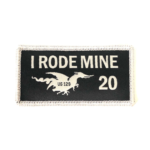 2020 'I Rode Mine' patch