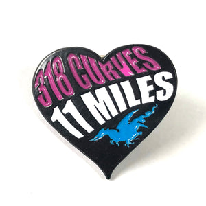 Ladies Heart Pin