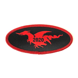 2020 Oval patch