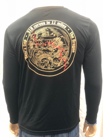 Asian Circle Dragon L/S