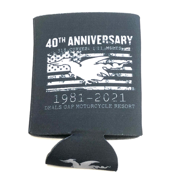 40th Anniversary coozie