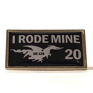 2020 'I Rode Mine' pin