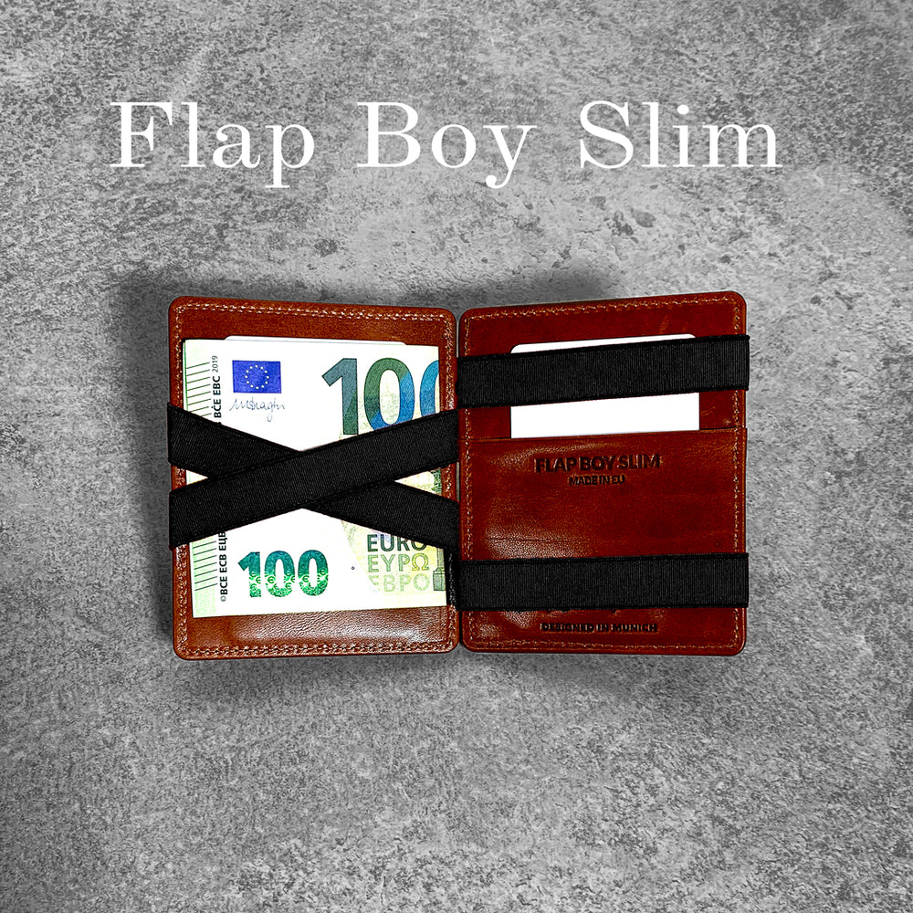 jaimie jacobs flap boy slim magic wallet geldbörse