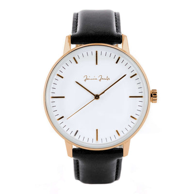 Jaimie Jacobs Watch Rose Gold Watch Lehel Sunrise jamy jamie jami jakobs