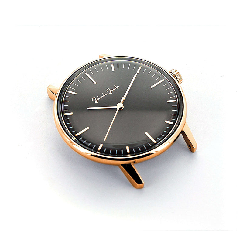 Jaimie Jacobs Watch Rose Gold Watch Maxvorstadt Midnight jamy jamie jami jakobs