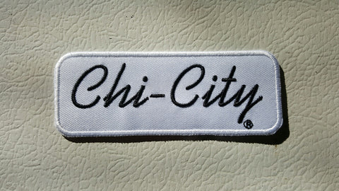"Chi-City Classic Patch - 4"" X 1.5"""