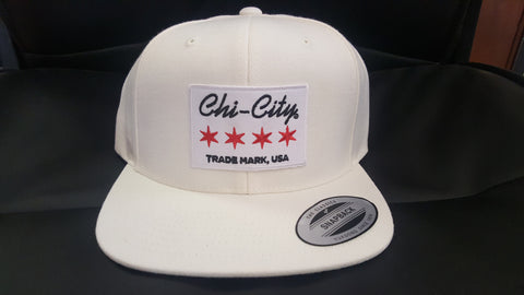 White Trademark, USA Snapback